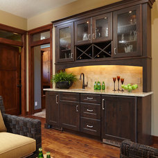 Traditional Kitchen by The Cabinet Shoppe