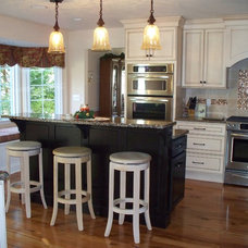 Traditional Kitchen by Pamela DeCuir Interior Designs