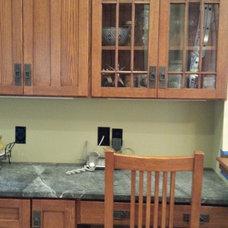 Craftsman Kitchen by Distinctive Kitchens and Baths