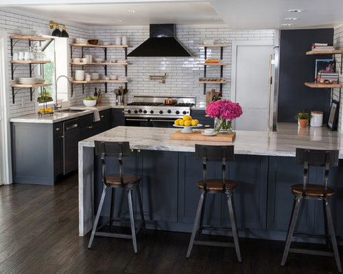 Design Ideas For Small Kitchens 32 brilliant hacks to make a small kitchen look bigger Small Kitchen Design Ideas Remodel Pictures Houzz