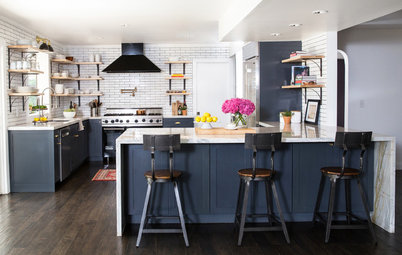 Kitchen of the Week: French Bistro Style With Industrial Touches
