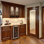 Scotia Remodel Rustic Kitchen Minneapolis By