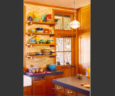 Rustic Kitchen by Scott Cornelius Architect
