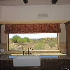 mediterranean kitchen by S Interior Design