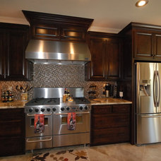 Traditional Kitchen by Mccluskey Construction llc