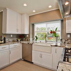 Farmhouse Kitchen by Miramar Kitchen and Bath
