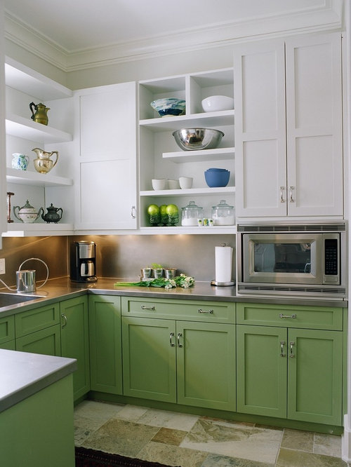 Built In Microwave | Houzz