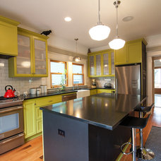 Eclectic Kitchen by Encircle Design and Build