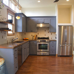 eclectic kitchen by Joel Fraley