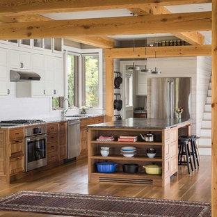 75 Popular Beach Style Kitchen Design Ideas Stylish