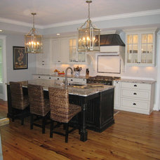 Traditional Kitchen by Sea Island Builders LLC