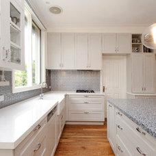 Transitional Kitchen by Key Piece
