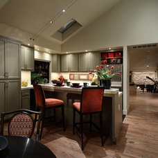 Asian Kitchen by Culbertson Durst Interiors