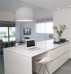 modern kitchen by NURIT GEFFEN-BATIM STUDIO