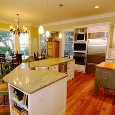 transitional kitchen by Architrave