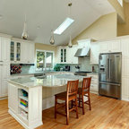 Royal Meadow Traditional Kitchen Portland Maine By Gulfshore Design