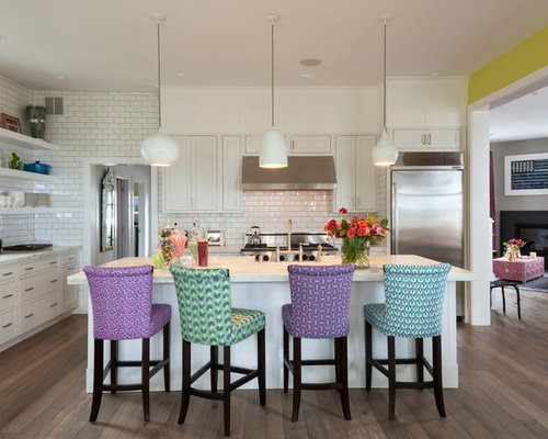 White Kitchen Chairs kitchen chairs | houzz