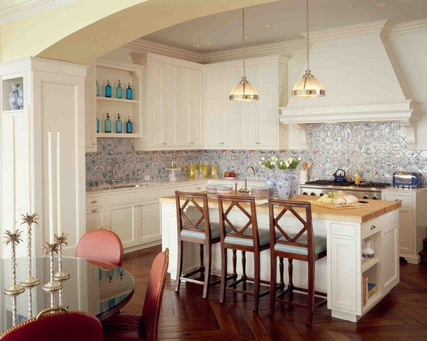 Traditional Kitchen by Kendall Wilkinson Design
