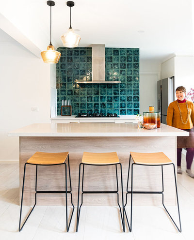 Contemporary Kitchen by Green Room Interiors
