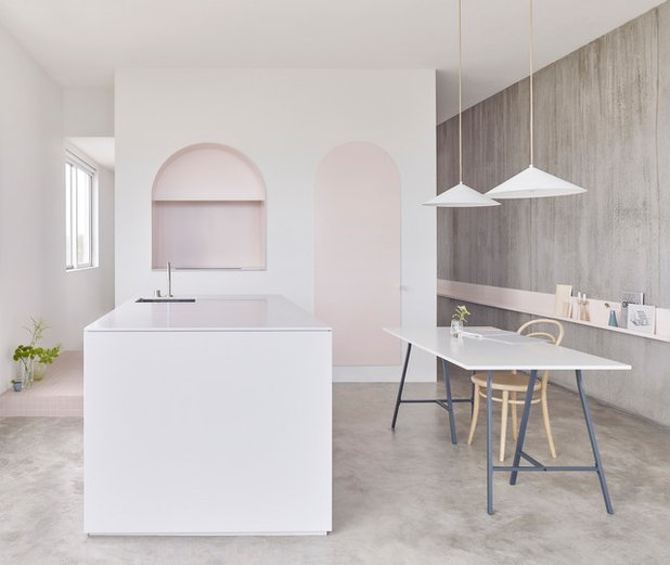 Scandinavian Kitchen by Corian Australia By CASF