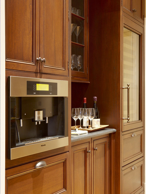 Built In Coffee Station Houzz