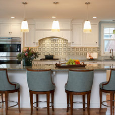 Transitional Kitchen by Gale Michaud Interiors
