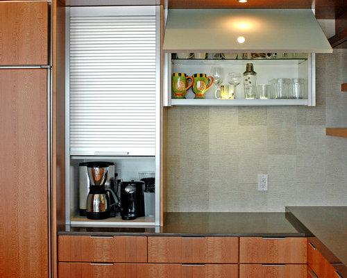Stainless Steel Appliance Garage Home Design Ideas