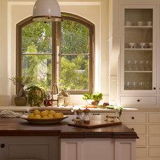 Mediterranean Kitchen by Tim Clarke Design