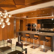 Contemporary Kitchen by Radius Architectural Millwork Ltd.