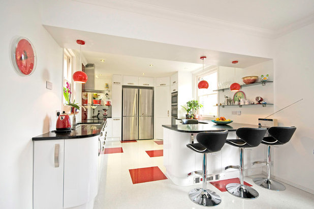 Contemporary Kitchen by Roots Kitchens Bedrooms Bathrooms
