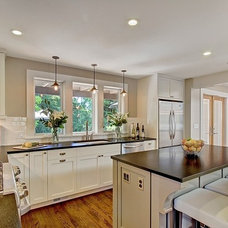 Contemporary Kitchen by Blue Sound Construction, Inc.