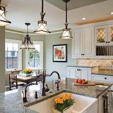 Traditional Kitchen by Estate Homes Inc