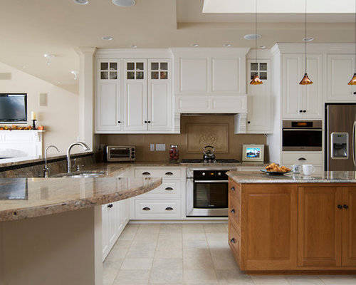 Portland Maine Kitchen Design Ideas Renovations Photos With Porcelain Flooring