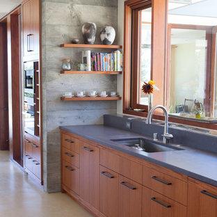 Sebastapoll Residence - Mahogany Kitchen