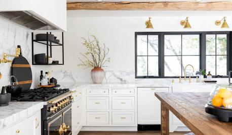 New This Week: 3 Beautifully Balanced White Kitchens