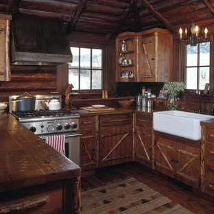 75 Beautiful Small Rustic Kitchen Pictures Ideas September 2020 Houzz