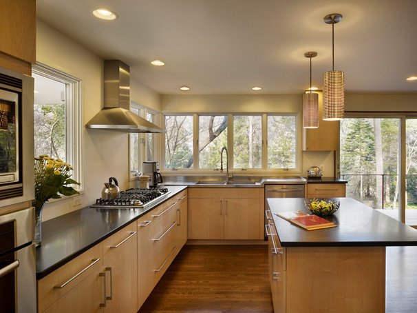 Contemporary Kitchen by Metcalfe Architecture & Design