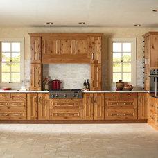 Rustic Kitchen by Seifer Kitchen Design Center