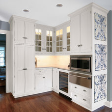 Transitional Kitchen by Seifer Kitchen Design Center
