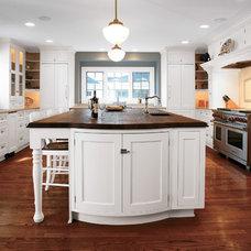 Transitional Kitchen by Seifer Kitchen Design Center