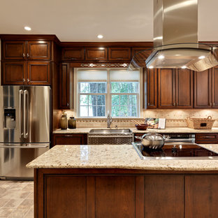 Giallo Ornamental Cream Granite Houzz