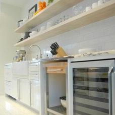 Contemporary Kitchen by Christopher Gaona Design Studio