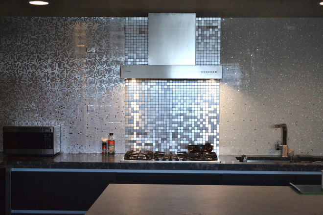 Contemporary Kitchen by Home Tile Design