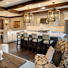 Rustic Kitchen by Semerjian Interiors