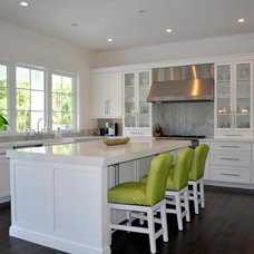 Transitional Kitchen by Artios Fine Custom Cabinetry
