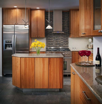 eclectic kitchen by Chipper Hatter Architectural Photographer