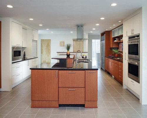 Modern Kitchen Designs   Modern Galley Kitchen Idea In San Diego With  Stainless Steel Appliances,