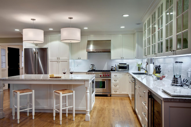 Traditional Kitchen by Supple Homes, Inc