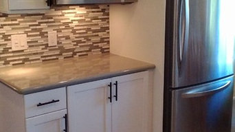 Separate Refrigerator and Microwave Area