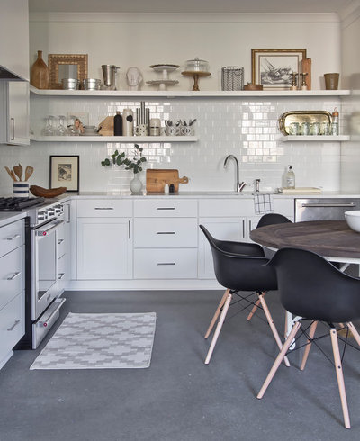 Scandinavian Kitchen by Julie Holloway